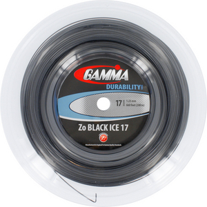 GAMMA ZO BLACK ICE 17G REEL TENNIS STRING
