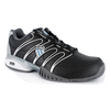 K-SWISS Men`s Approach II Tennis Shoes Black/Grey/Silver