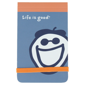 LIFE IS GOOD JAKES MINI FLIP NOTEPAD
