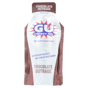 GU ENERGY LABS GU CHOCOLATE OUTRAGE ENERGY GEL