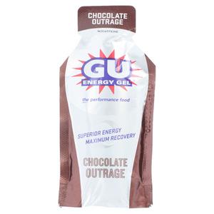GU ENERGY LABS GU CHOCOLATE OUTRAGE ENERGY GEL