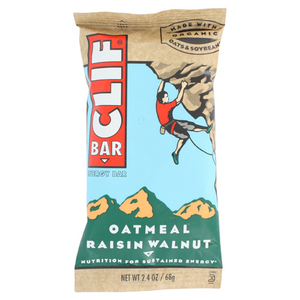CLIF BAR AND CO CLIF BAR OATMEAL RAISIN WALNUT
