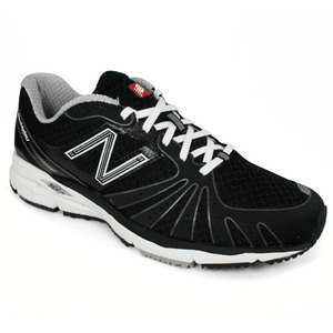 NEW BALANCE MENS 890 BLACK WHITE D WIDTH RUN SHOES