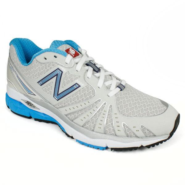 Women's 890 Silver Blue B Width Running Shoes