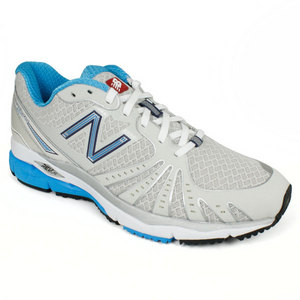 NEW BALANCE WOMENS 890 SILVER BLUE RUNNING SHOES