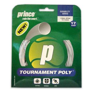 PRINCE TOURNAMENT POLY 17G WHITE