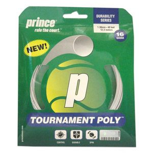 PRINCE TOURNAMENT POLY 16G WHITE