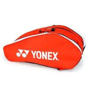 YONEX TOURNAMENT RED NINE PACK TENNIS BAG