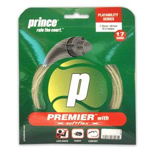 PRINCE PREMIER W/SOFTFLEX 17G STRINGS