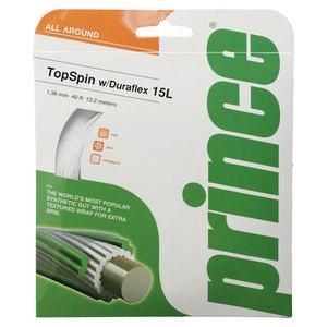 PRINCE TOP SPIN 15L W/ DURAFLEX WHITE