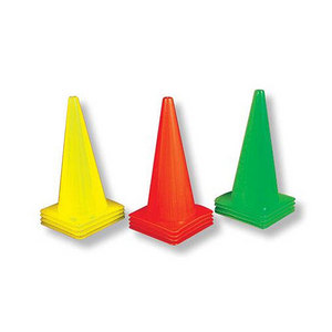 Stoplight Cones Set of 12