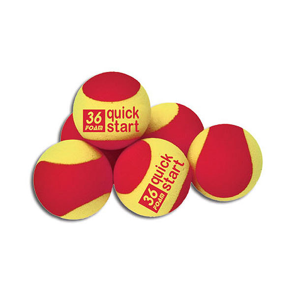 Quick Start 36 Set Of 12 Foam Tennis Balls