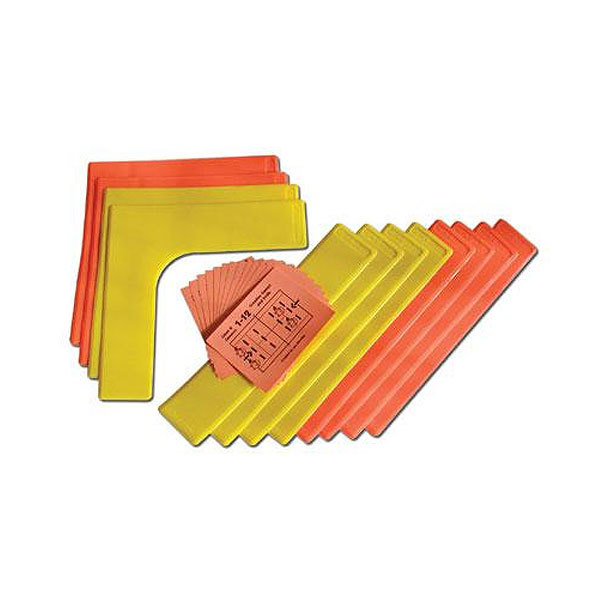 Lines And Corners 12 Piece Set With Booklet