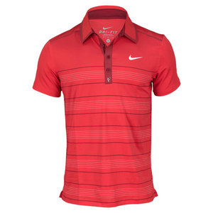 MENS RF TROPHY STRIPE TENNIS POLO