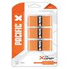 PACIFIC Xtr Grip 3 Pack Orange Tennis Overgrip