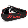 YONEX Tournament Black/Red 3 Pack Tennis Bag