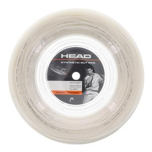 Synthetic Gut PPS 16G Tennis String Reel White