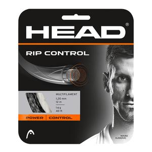 RIP Control 16G Tennis String Black