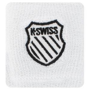K-SWISS 3 INCH WHITE TENNIS WRISTBANDS
