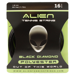 ALIEN BRAND BLACK DIAMOND 16G TENNIS STRING