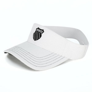 K-SWISS UNISEX STRETCH TENNIS VISOR WHITE