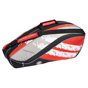 CLUB X6 FRENCH OPEN SIX PACK TENNIS BAG