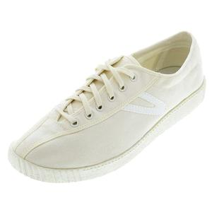 TRETORN MENS NYLITE CANVAS WHITE/WHITE SHOES