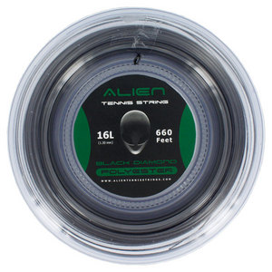 ALIEN BRAND BLACK DIAMOND 16G REEL TENNIS STRING