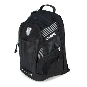 K-SWISS MEDIUM TRAINING TENNIS BACKPACK BLACK