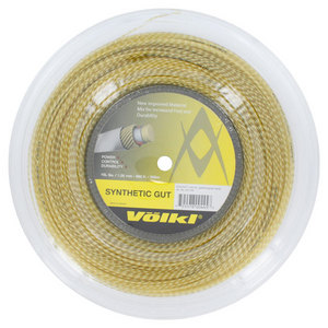 VOLKL SYNTHETIC GUT 15L GOLD REEL STRING