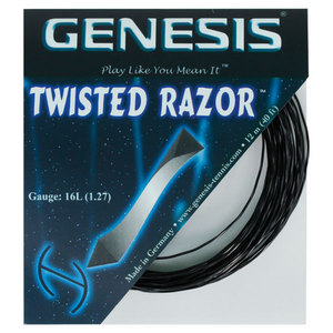 Twisted Razor 16L 1.27 Tennis String