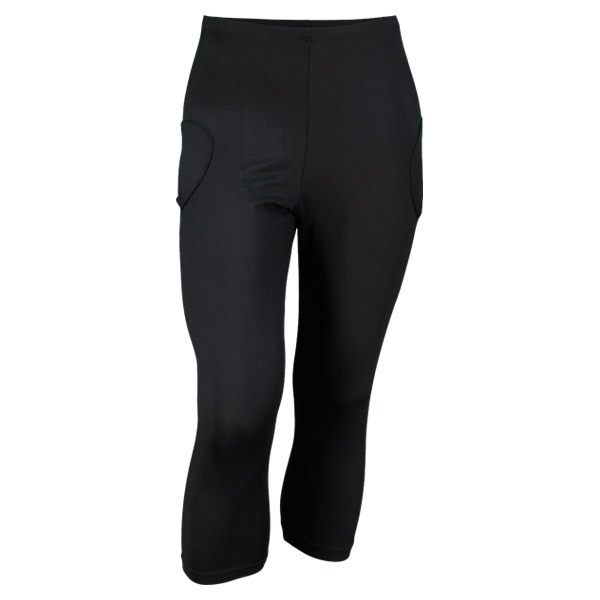 Womens Court Capri Leggings InBetween Court Capri LeggingThe InBetween Court Capri Legging is your classic capri length with ball pockets This capri allows easyaccess to ball pockets and has obtains luxuries such as CoolMax and MicroTek Supreme fabrication which wicks moisture away