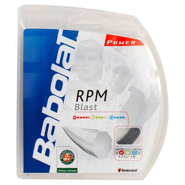 Rpm Blast Black 18g Strings