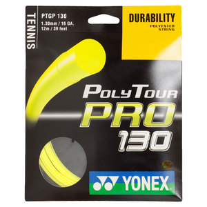 YONEX POLY TOUR PRO 130 16G YELLOW STRING