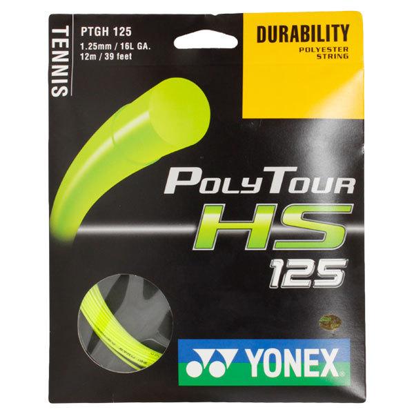 Poly Tour Hs 125 16l Green Tennis String