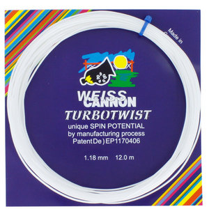 WEISS CANNON TURBOTWIST 18G TENNIS STRING