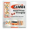 Hand Print Tennis Overgrip ORANGE_ASSRTD