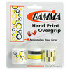 Hand Print Tennis Overgrip YELLOW_ASSRTD