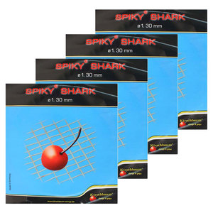 KIRSCHBAUM SPIKY SHARK 1.30 16G 4 PACK STRING