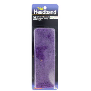 Thick Headband Purple