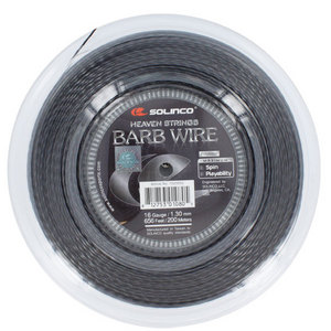 SOLINCO BARB WIRE 16G 1.30MM REEL TENNIS STRING