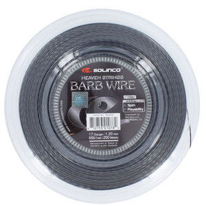 SOLINCO BARB WIRE 17G 1.20MM REEL TENNIS STRING