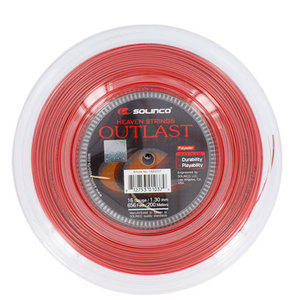 Outlast 16G 1.30MM Reel Tennis String