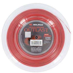 SOLINCO OUTLAST 17G 1.20MM REEL TENNIS STRING