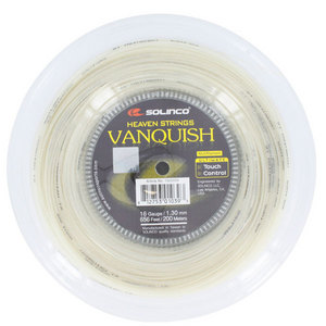 SOLINCO VANQUISH 16G 1.30MM REEL TENNIS STRING