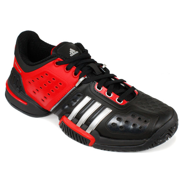Junior's Barricade 6.0 Xj Tennis Shoes Black/Red