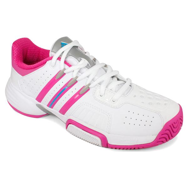 Junior's Barricade Team Xj Tennis Shoes Running White/Intense Pink