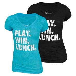 LOVEALL PLAY WIN LUNCH TEES