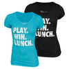Play Win Lunch Tennis Tee