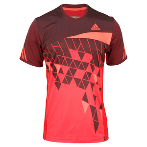 MENS ADIZERO FEATHER TENNIS TEE